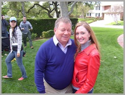 First picture with Mr. Shatner