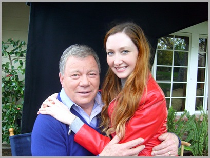 Mr. Shatner and me