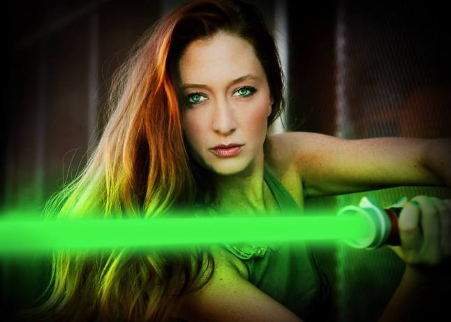 The Redheaded Jedi Girl
