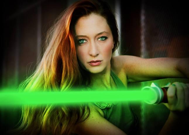The Redheaded Jedi Girl
